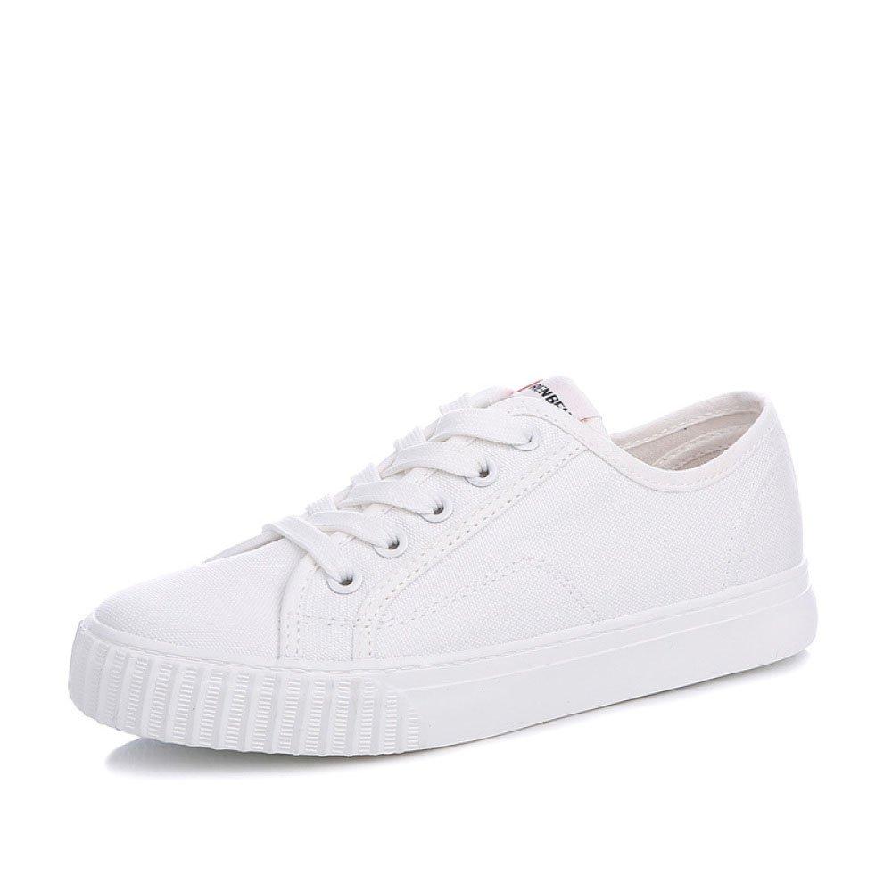 Koyi Femmes Toile Femmes Chaussures Blanc Toile Chaussures Sport Étudiants Chaussures Chaussures Plates Filles Chaussures Casual Espadrilles Chaussures de Sport White 6f52ce1 - shopssong.space