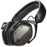 V-MODA Crossfade Wireless Over-Ear Noise Isolating Headphones, Gunmetal Black