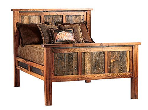 Mountain Woods Furniture The Wyoming Collection Bed, Queen ()