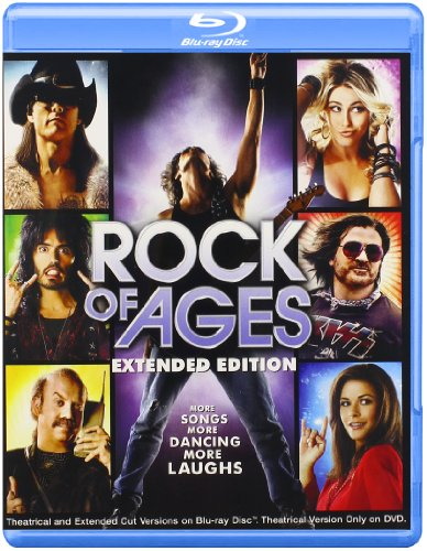 - Rock of Ages:Theatrical & Extended Cut (2012)(Blu-ray)