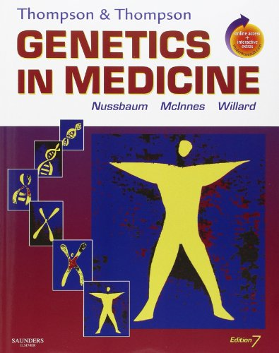 Thompson & Thompson Genetics in Medicine: With STUDENT CONSULT Online Access (Thompson and Thompson Genetics in Medicine) (Best Genetics Textbook For Medical Students)