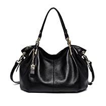 Bostanten Leather Handbags Tote Shoulder Crossbody Bags for Women
