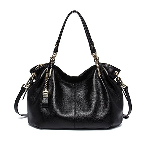 Amazon.com: BOSTANTEN Leather Handbags Tote Shoulder Crossbody ...