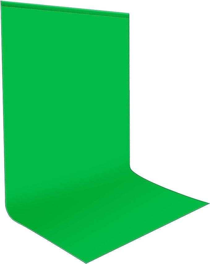 Video y televisi/ón Green Screen Spardar Algod/ón Puro Croma Fondo Chroma Key 2x3m Pantalla Verde Fondo de Estudio fotogr/áfico Puro algod/ón Muselina Fondo de Pantalla Plegable para fotograf/ía