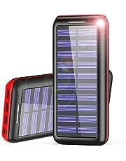 AKEEM Caricabatterie Portatile Power Bank 24000mAh Batteria Esterna
