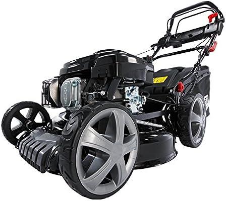 BRAST - Cortadora de césped de gasolina, 4,4 kW (6ps), incluye ...