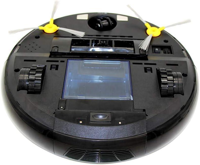 FENGTING Nettoyage Robot Robot Aspirateur for la Maison Balayage Automatique poussière Stériliser Intelligent prévu Mobile App Remote Control, (Couleur: Noir) (Color : Black) Black