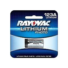 Rayovac 123A CR-123 2/3A 3V Photo Lithium Battery CR17335 5018LC