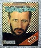 Ringo Starr - Rolling Stone Magazine - #342 - April 30, 1981 - Andy Kaufman, Steve Winwood, Gary U.S. Bonds articles