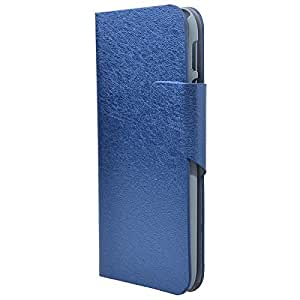 Nibosi Leather Case for Htc One M8 Color Blue