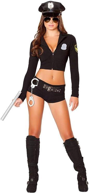 Amazon.com: Neilyoshop - Disfraz de policía sexy para mujer ...