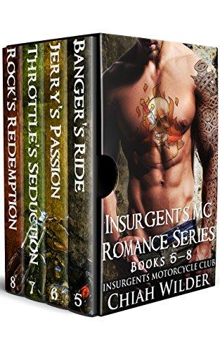 Insurgents MC Romance Series (Books 5 - 8): Insurgents Motorcycle Club Box Set (Cycle Viii Series)