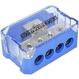 SPDP-1044 Platinum Series 1/0 Gauge In to 4 Gauge Out Power Distribution Block
