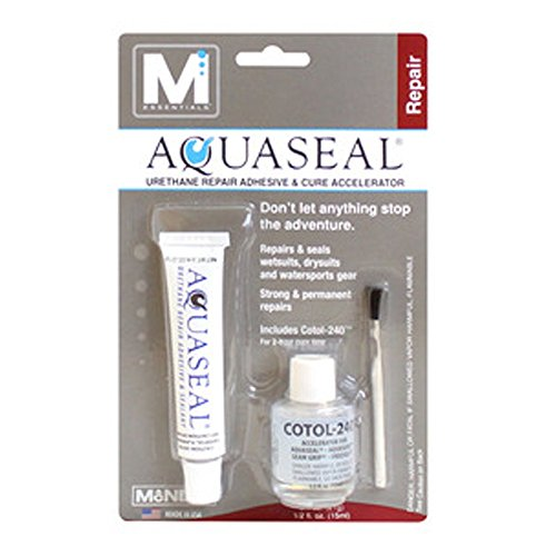 Gear Aid M Essentials Aquaseal and Cotol-240 Combo Repair Adhesive Glue by Gear Aid