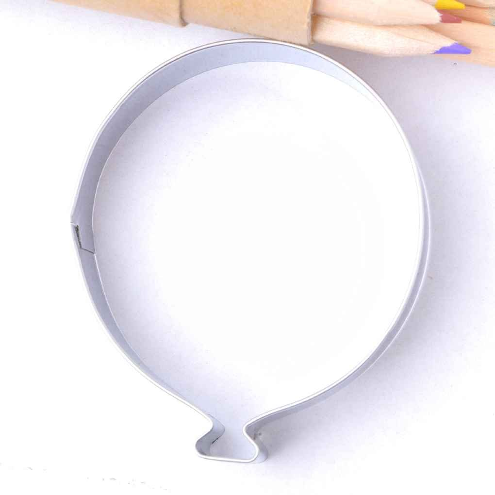Molde Forma de Globo de Acero Inoxidable Fondant Pastel cortadores de Galletas para Hornear Herramientas: Amazon.es: Hogar