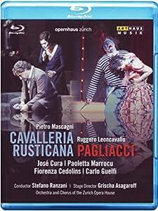 Mascagni: Cavalleria rusticana / Leoncavallo: Pagliacci [Blu-ray]