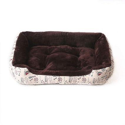 HenLooo Cama para Perros, Lujoso Engrosamiento de Terciopelo ártico de Alto Grado, Adecuado para