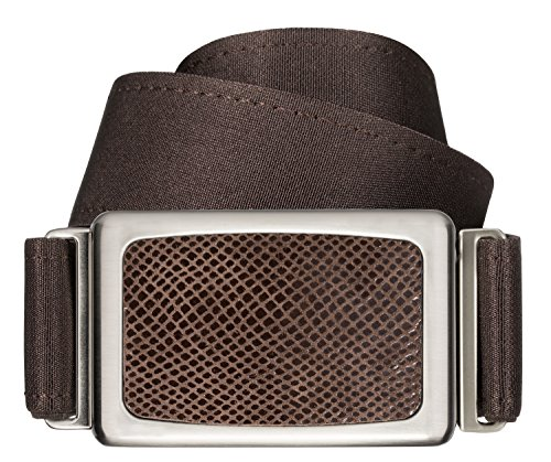 Hipsi Invisible, Slimming, Hidden, Stretch Flat Belt for Women XS/S - Dark Chocolate Brown