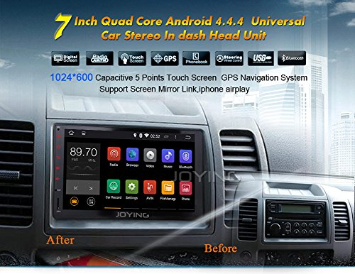 7 Quot Android Tablet Touch Screen Car Stereo Quad Core 1024
