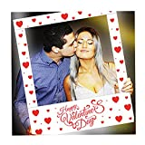 Aahs Engraving Valentine's Day Party Frame Photo Prop, 35 X 30 inches ('Happy...