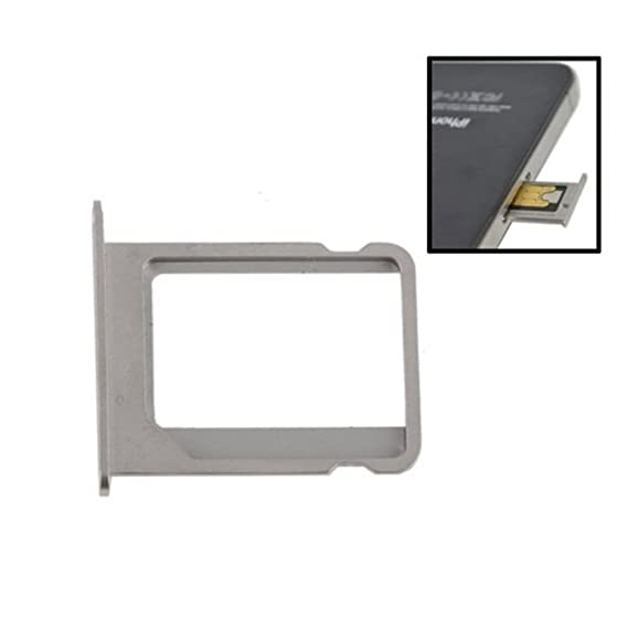 best loved b228f 1c648 Amazon.com: iPartsBuy for iPhone 4/4S SIM Card Tray Holder (Gray ...
