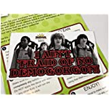 Sunbeam Decals Stranger Things - I Ain't 'Fraid of no Demogorgon! Sticker. Peel and Stick Vinyl Decal for car Window, Laptop. Ghostbusters Costumes SD0019