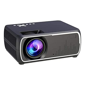 Zichen Mini proyector LED portátil Proyector de Video Full HD ...