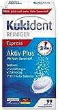 Kukident Aktiv Plus Express 99er, 3er Pack (3 x 99 Stück)
