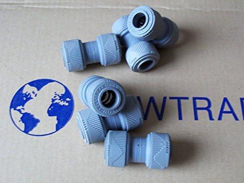 15 mm, 1 a 3 Conector recto de pl/ástico a presi/ón Hep2O
