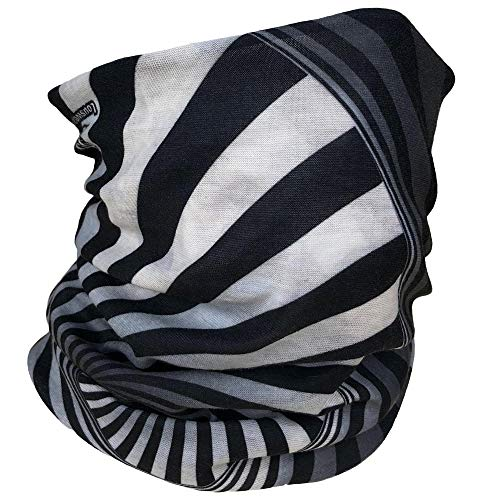 COMET GEAR Seamless Face Mask Bandanas - Breathable and Soft - for Wind, dust, Outdoors, Festivals