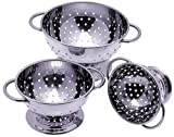 Progressive International Set of 3 Mini Colanders