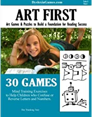 Dyslexia Games - Art First - Series A Book 1