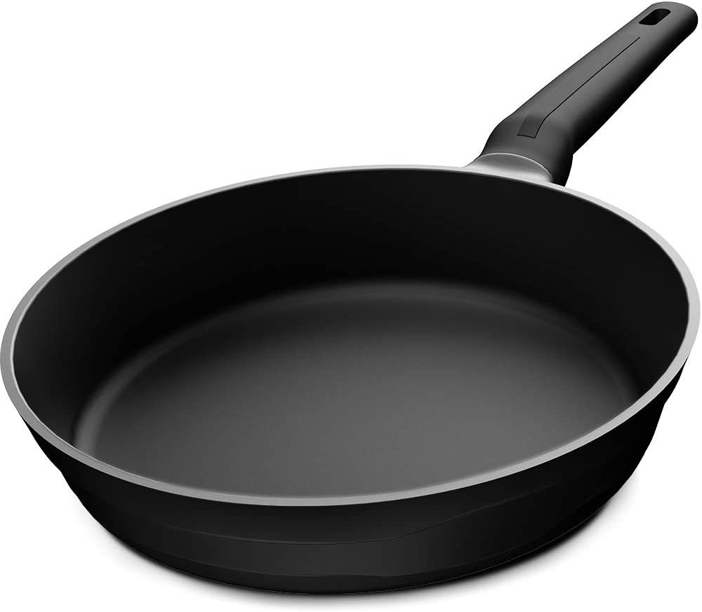 PRANZOELITE Nonstick Frying Pan,11 Inch Omelette Fry pan Skillet,Dishwasher Safe with Induction Compatible Bottom 100% PFOA Free,Black