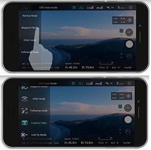 Hubsan Zino GPS FPV Drone Pliable 4K Caméra Avec 3 axes Cardan WIFI APP Contrôle Suivi de l'image Suivez-moi Photographie Panoramique Ligne de photographie Ligne Mouche Waypoints Orbite Mode sans tête