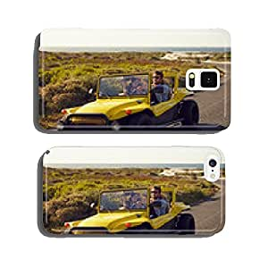 Couple enjoying on a road trip cell phone cover case iPhone5