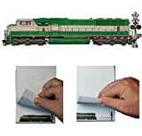 Train Safety Flipbook Animation Railroad Notebook Sd60m Locomotive 4 Sets, Train pictrues, Train model