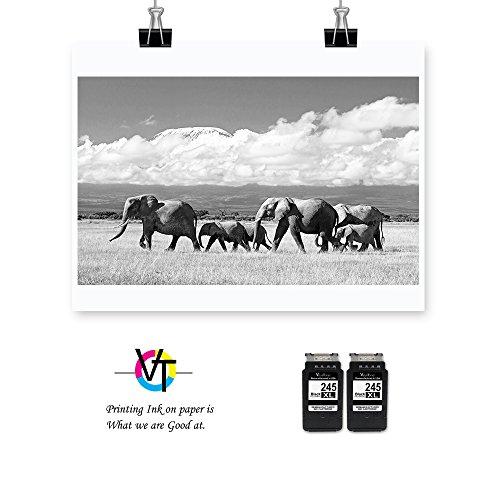 Valuetoner Remanufactured Ink Cartridge Replacement for 901XL 901 XL (2 Black) CZ075FN CC654AN High Yield, work with Officejet 4500, J4524, J4540, J4550, J4580, J4624, J4680 printers Photo #3
