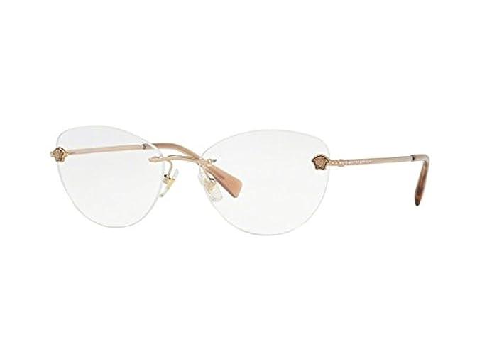74baac5902ca Versace MEDUSA STRASS VE 1248B COPPER women Eyewear Frames  Amazon.co.uk   Clothing