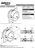 Deflecto Plastic Dryer Vent Draft