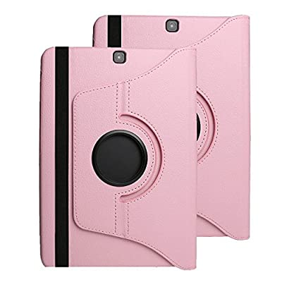 Samsung Galaxy Tab S2 8.0 Case Cover,elecfan 360 Degrees Rotating Magnetic PU Leather Smart Case Cover for Tab S2 8.0 inch Tablet SM-T710,SM-T715 from elecfan