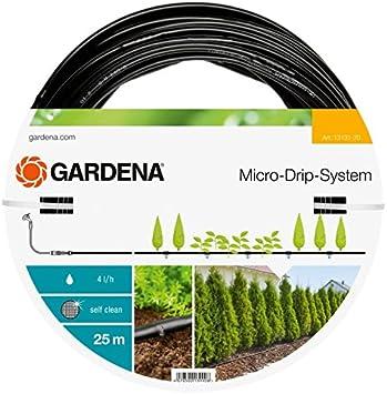 GARDENA Extension de tuyau /à goutteurs int/égr/és de surface 13/mm 1//2 /: rallonge de 25/m pour kits de d/émarrage pour rang/ées de plantes 13131-20
