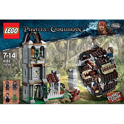 LEGO Pirates of the Caribbean The Mill 4183: Toys & Games