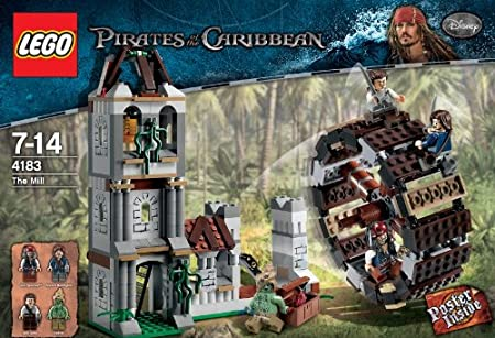 genuine LEGO pirates of the Caribbean HADRAS minifigure 4183 set 47F