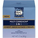 RoC Multi Correxion 5 in 1 Chest, Neck & Face Cream with SPF 30, 1.7 oz