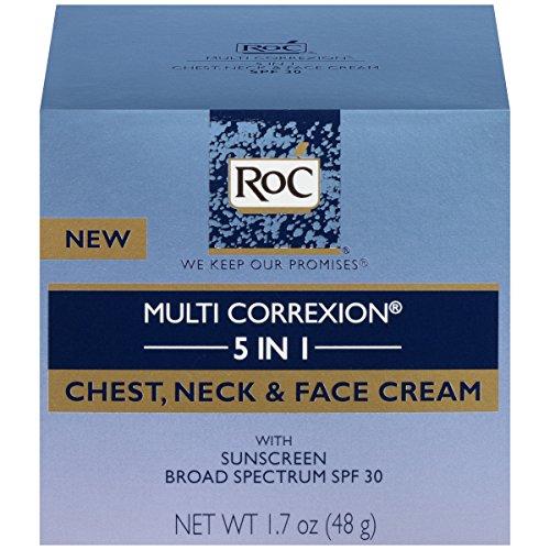 RoC Multi Correxion 5 en 1 poitrine, cou & crème pour le visage, 1. 7 Oz