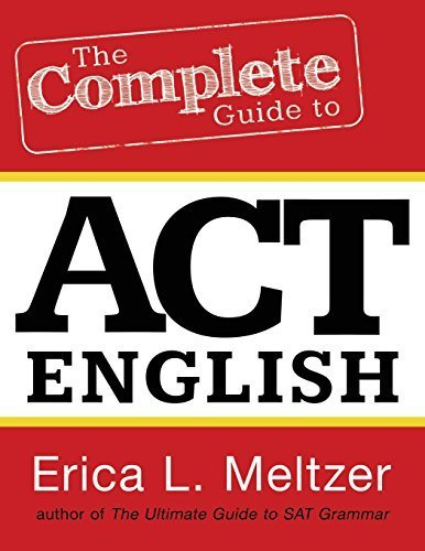 By Erica L. Meltzer - The Complete Guide to ACT English (2013-05-13) [Paperback]