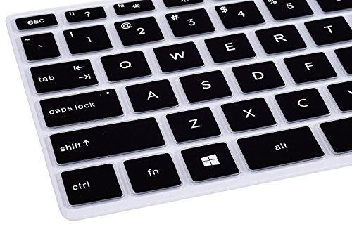 CaseBuy Cover Compatible 2019 HP Laptop/HP X360 14M-CD 14-BF 14-cm 14-CF HP 14 inch Laptop Skin HP Laptop Black