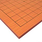 Go Table Board (Goban) With 9x9 Playing Field, 0.4 Inch Thick Beechwood Veneer