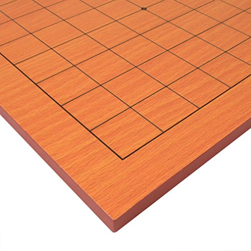 Go Table Board (Goban) With 9x9 Playing Field, 0.4 Inch Thick Beechwood - For Your Shape Face App Glasses