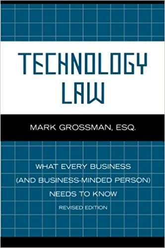 Download PDF By Mark Grossman Technology Law What Every Business And Minded